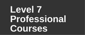 Level 7 Professional courses