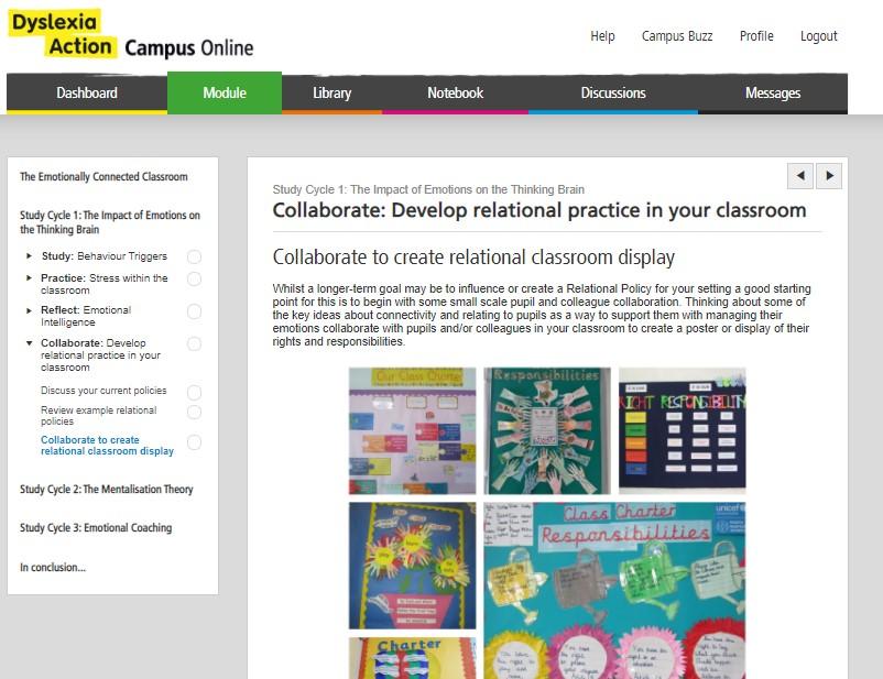 Campus Online Dyslexia Action